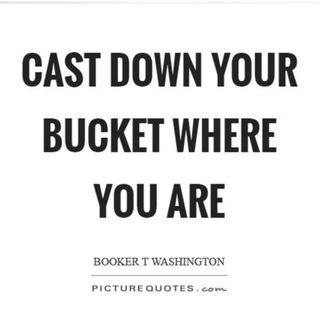 Cast Down Your Buckets - Booker T. Washington: 619-768-2945