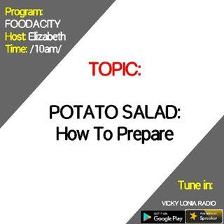 FOODACITY: How To Prepare POTATO SALAD
