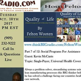 Aging Gracefully Elder Care Series - Guest Kevin McCants: Health Care