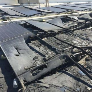 Walmart is suing Tesla over multiple solar panel fires