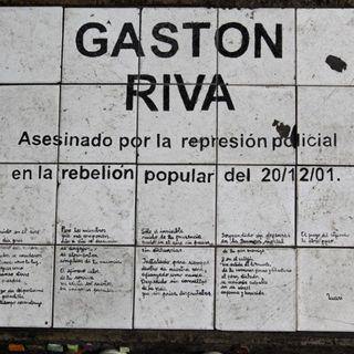 Camila Riva: A 18 años del asesinato de su papá Gastón en la represión del 20/12/2001