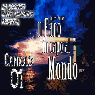 Audiolibro il Faro in capo al Mondo - Jules Verne - Capitolo 01