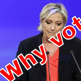 The surprising truth about the French Election - Le Pen actually came third.