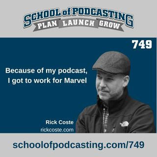 Because of My Podcast, I Got to Work For Marvel