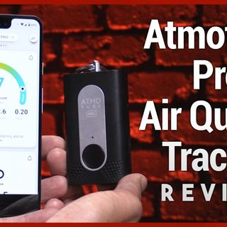 Hands-On Tech: Atmotube Pro Review