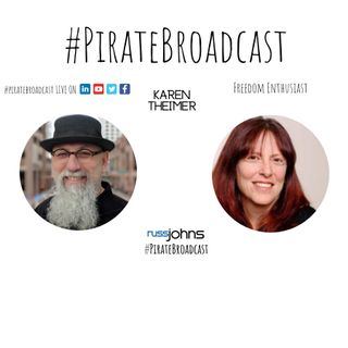 Catch Karen Theimer on the PirateBroadcast