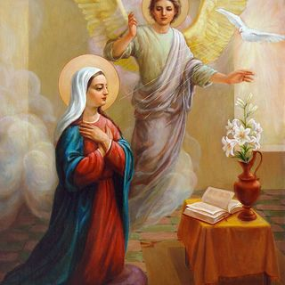 March 25, 2020: Annunciation- Emptying to be filled