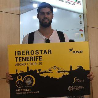 Santi Yusta ya está en Tenerife