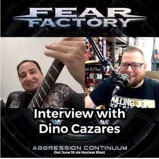 Dino Cazares from Fear Factory talks Aggression Continuum, vinyl reissues and future of the band