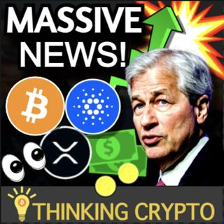 Jamie Dimon BULLISH on Bitcoin - Morgan Stanley Buys More GBTC - Fed Neel Kashkari BTC - Coinbase Crypto Paycheck