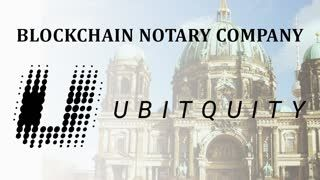 Ubitquity - Notary Back up Blockchain Agnostic Company - Legal Seed Raise