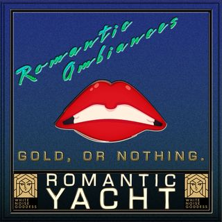 Romantic Yacht Ambiance | White Noise | ASMR & Relaxation