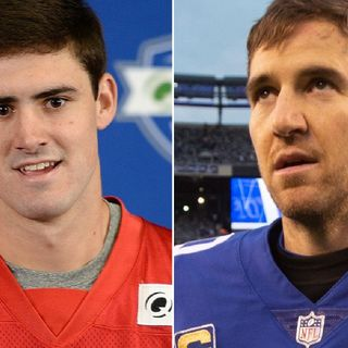 "Eli & Son ""Daniel Jones Manning"" Lol NYGs Are A Joke Now"