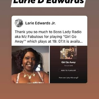 A Chat With 2xawardwinning Larie D Edwards