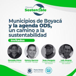 Municipios de Boyacá y la agenda ODS, un camino a la sustentabilidad