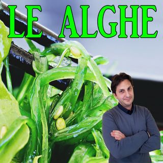 Episodio 89 - ALGHE COMMESTIBILI - Una panoramica sulle alghe come alimento!