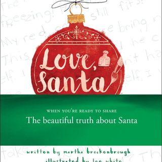 Martha Brockenbrough Mom Are You Santa Claus