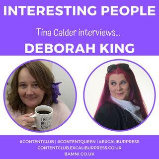Tina Calder interviews Armagh speaker and empowerment coach Deborah King | #ContentQueen #TinaCalder