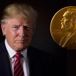 Trump podría alzarse con el Nobel de la Paz.