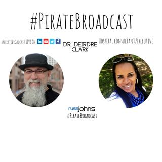 Catch Dr  Deirdre Clark on the PirateBroadcast
