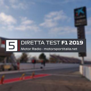 Diretta Test Barcellona 2019, Giorno 5