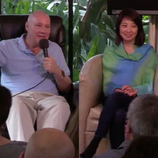 Sesión 2 del Retiro La luz en ti con David Hoffmeister y Frances Xu / Session 2 of The Light in You Retreat