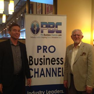 Peter van der Lende with Expand360 at Atlanta Euro Chamber Mixer on International Business Radio