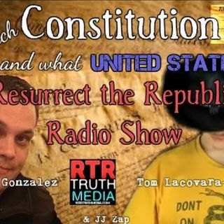 Which #Constitution and What #UnitedStates?  with Derrick Gonzalez, Tom Lacovara-Stewart and JJ Zap