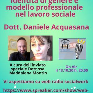 Daniele Acquasana. Identita di genere e modello professionale nel lavoro sociale