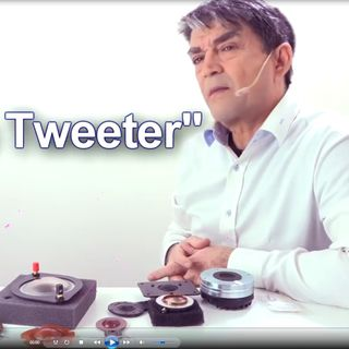 Parliamo di tweeter in alta fedeltà, hifi, stereo.