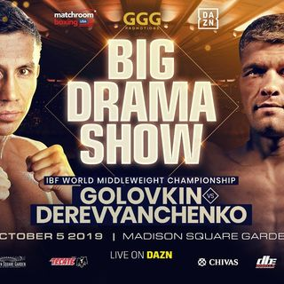 Confirmed GGG-Sergiy Derevyanchenko At MSG In NYC For The IBF Middleweight Title On DaznUSA+