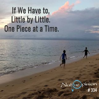 """Episode: 334 """"If We Have to, Little by Little. One Piece at a Time."""""""