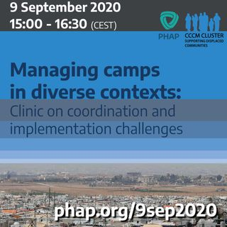Managing camps in diverse contexts