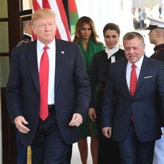 Trump Praises Jordan's Efforts In The War On Terror