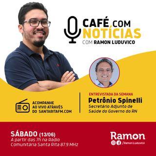 Programa Café com Notícias - 13/06/2020 - Com Ramon Luduvico