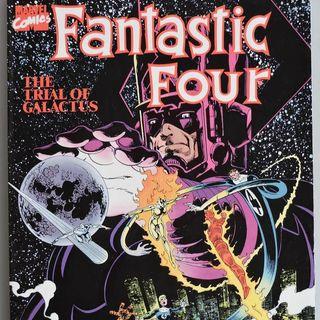 Source Material #169: Fantastic Four Comics: Trial of Galactus (Marvel, 1982)
