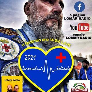 CARNEVALE SOLIDALE 2021 - CREDENDARI ARANCERI e ITALIA SLOW TOUR