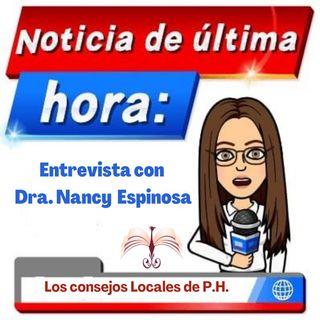 Entrevista con la Consejera Local de Propiedad Horizontal Dra. Nancy Espinosa