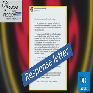 Rising Response letter to Landon Donovan and the San Diego Loyals Homophobic Slur