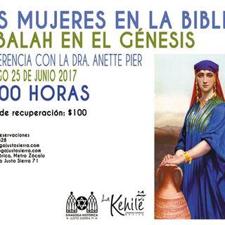#LaEntrevista con la Dra Anette Pier sobre el papel de las Mujeres en la Biblia
