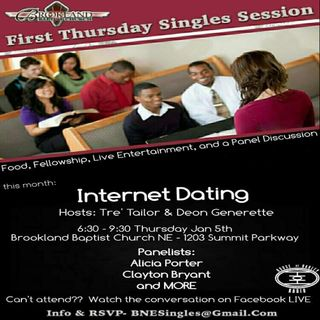 First Thursday Singles Session: Internet Dating