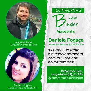 Rádio, o amigo das manhãs com informação e carisma com Daniela Fogaça