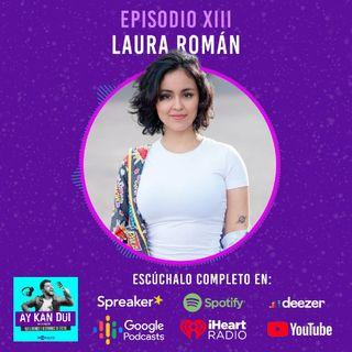 Episodio XIII - Laura Román compositora y cantante colombiana - Creando música que conecta