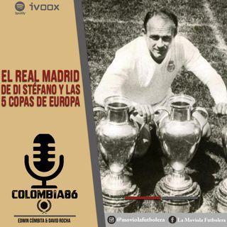 El Real Madrid de Alfredo Di Stéfano y las 5 Copas de Europa