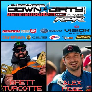 X Games Gold Medalist Brett Turcotte & Trophy Truck Driver Alex Figge On Air!