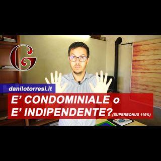 SUPERBONUS 110%: bifamiliare in condominio o appartamento indipendente come funziona