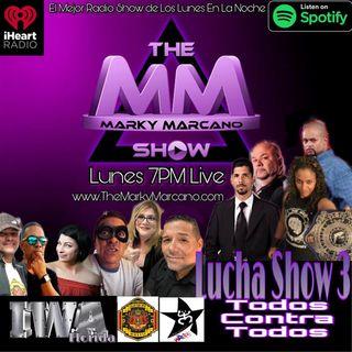 Tonight !! Lucha Show #3 Todos Contra Todos   SavioVega  Roxxy  IWA  Willy Urbina  JoseMateo