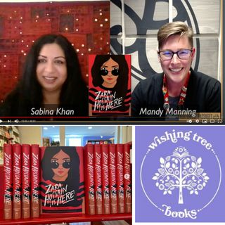 "Sabina Khan is Here! Virtually! Talking with Mandy Manning about ""Zara Hossain is Here!"""