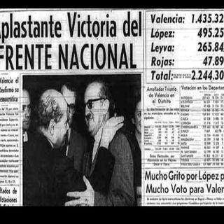 violencia en colombia y el frente nacional