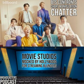 BTS Confronts Chart Manipulation Chatter | Movie Studios Mocked by Hollywood For Streaming Blunders BP082721-189